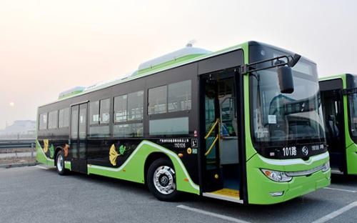 丹东公交步入绿色环保新时代